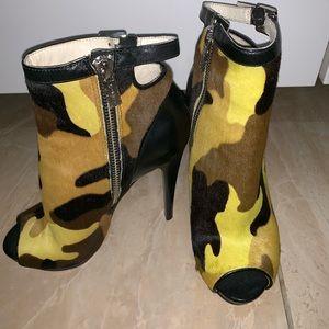 Michael Kors Camo Booties